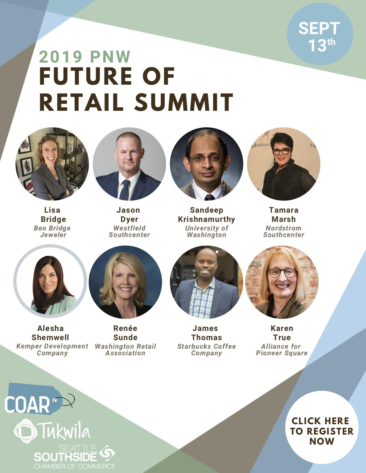 Speakers announced for PNW Future of Retail Summit on Fri., Sept. 13