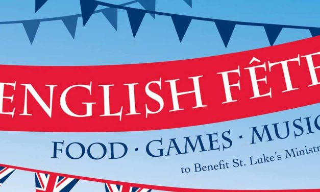 English Fête returning to St. Luke's on Saturday, Sept. 14