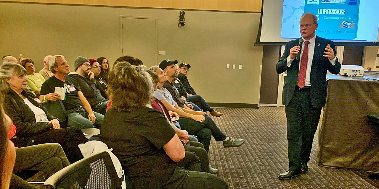 VIDEO: Watch King County Prosecutor Dan Satterberg's Community Meeting