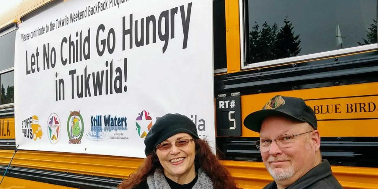 Help feed local kids and 'Stuff the Bus!' this Saturday, Feb. 1