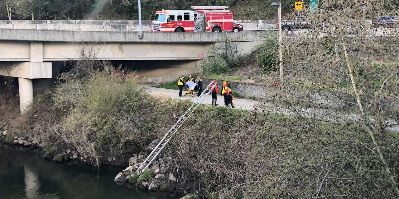 Man rescued from Green River in Tukwila Wednesday afternoon