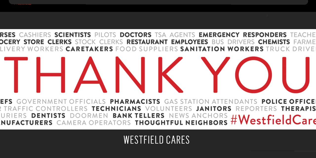 #WestfieldCares launches to support local organizations during COVID-19 crisis