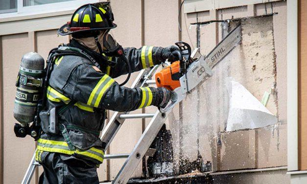 Fire burns in wall of multi-family home in Tukwila Tuesday