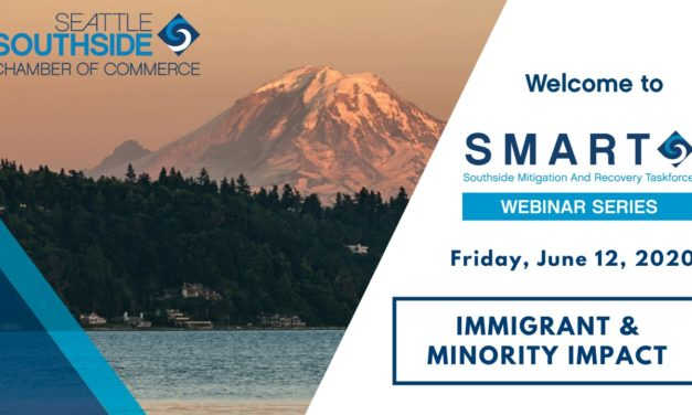 Seattle Southside Chamber's SMART Webinar on Immigrant & Minority Business is Friday