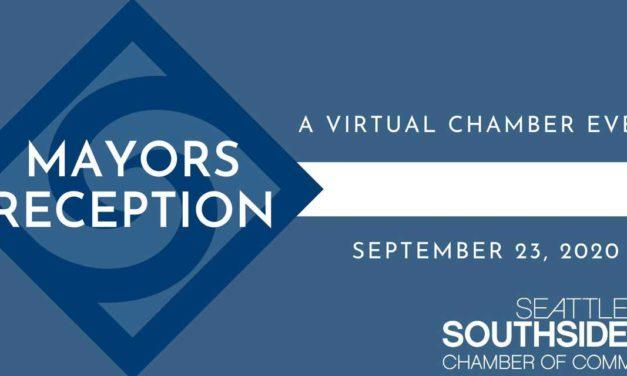 REMINDER: Seattle Southside Chamber's Mayors Reception is Wednesday