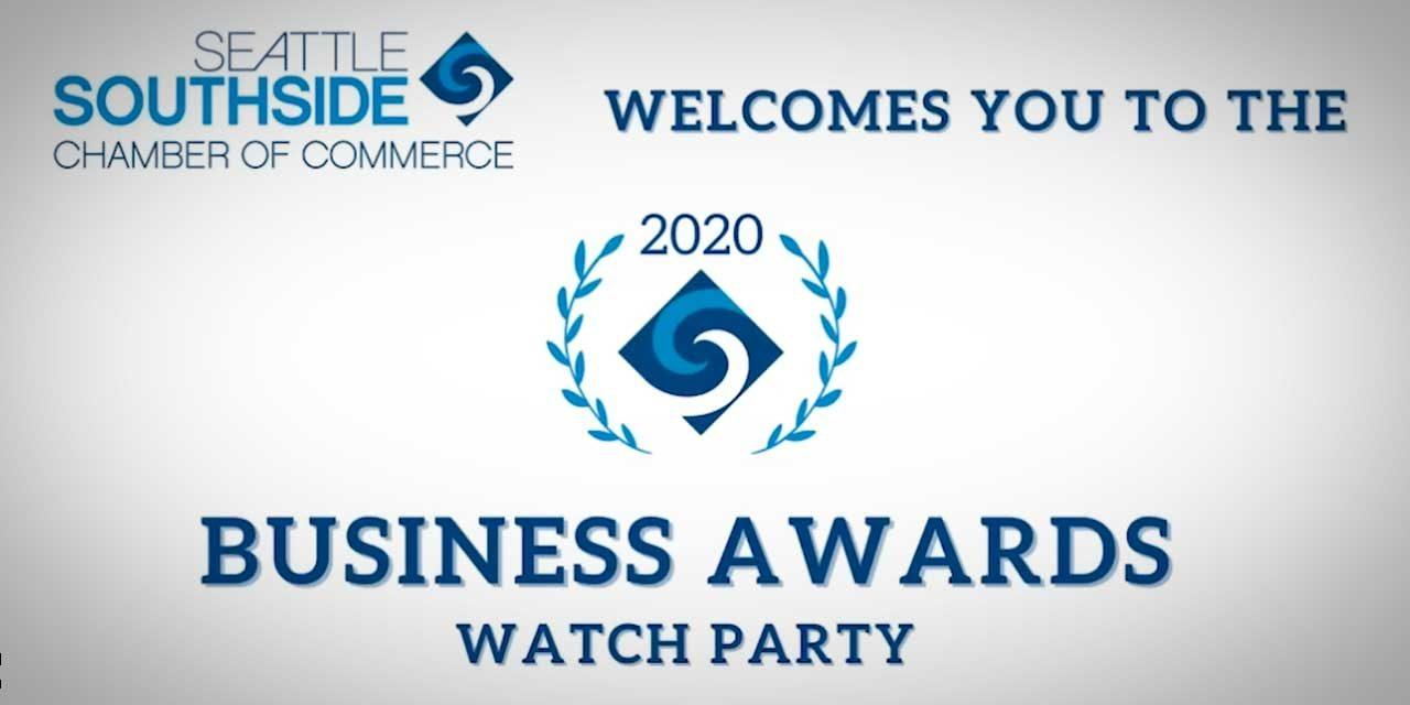 VIDEO: Seattle Southside Chamber honors its 2020 Business Award winners