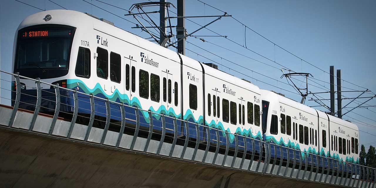 Testing of Link's new light rail vehicles during service hours starts Saturday