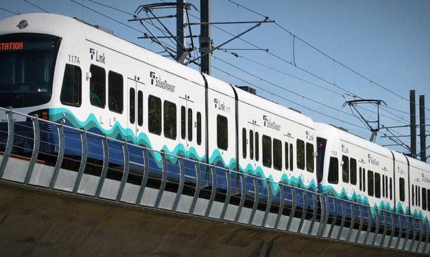 Link light rail service will temporarily single-track at Tukwila station starting Mar. 18