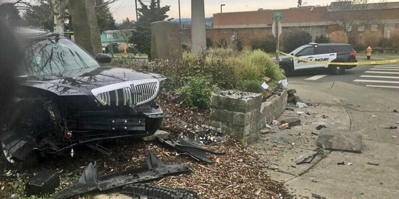 Driver arrested following vehicle vs pedestrian collision in Tukwila