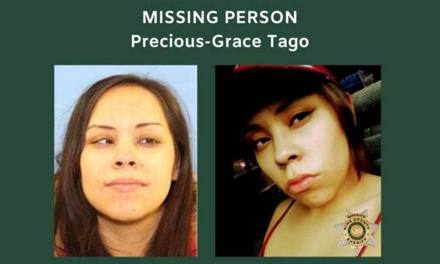 Have you seen Precious-Grace Tago? She's missing and was last seen in Tukwila
