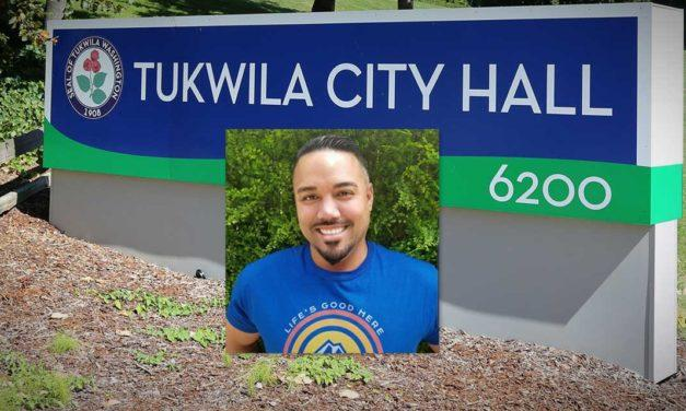 Tosh Sharp announces that he's running for Tukwila City Council