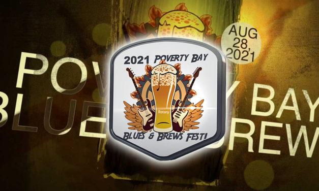 Tickets for the Aug. 28 Poverty Bay Blues & Brews Festival now on sale