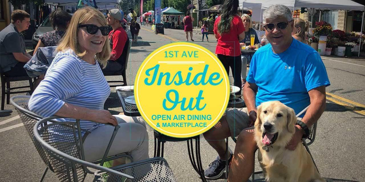 Weekend fun! Second-to-last Inside OUT Dining Marketplace in Kent this Sat. Aug. 21
