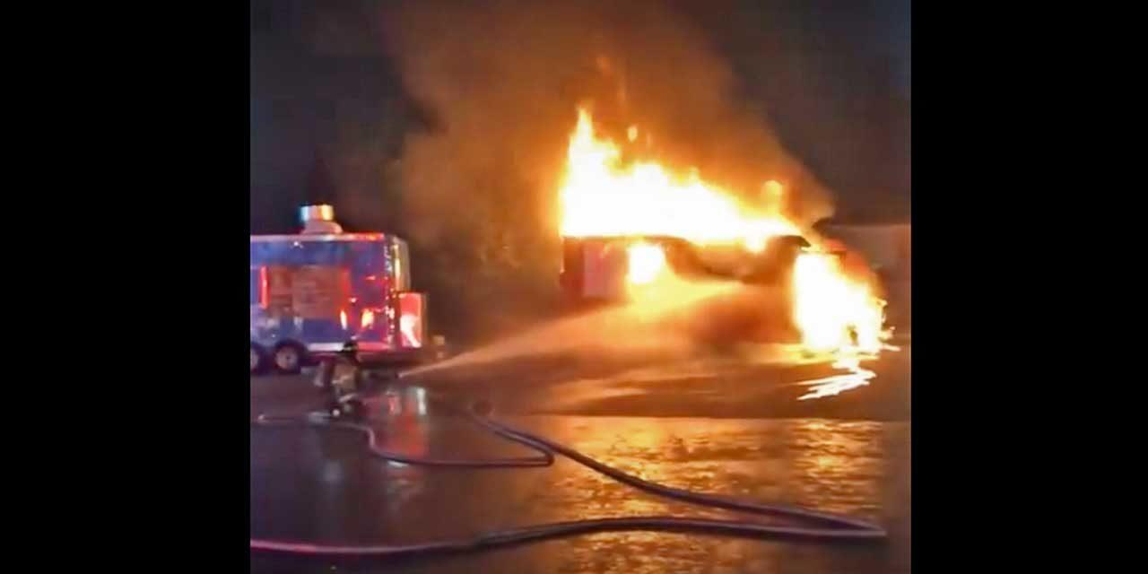 Investigators looking into several suspected arson fires involving vehicles