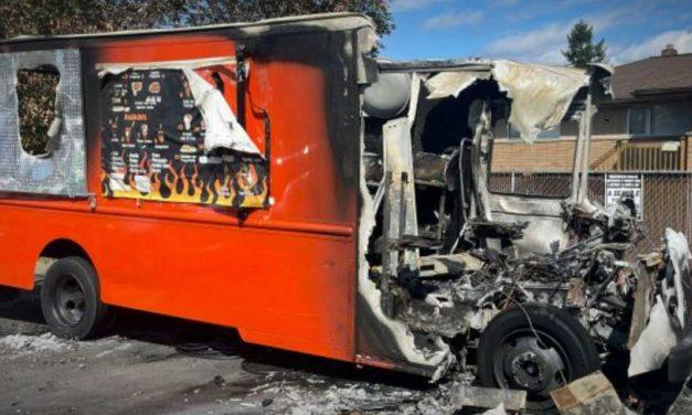 Online fundraiser started for owner of Food Truck destroyed by arson fire
