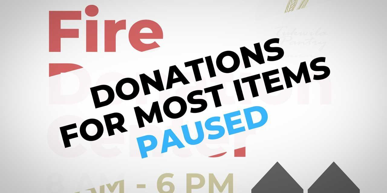 UPDATE: Item donations for apartment fire victims paused, but Volunteers & gift cards still needed
