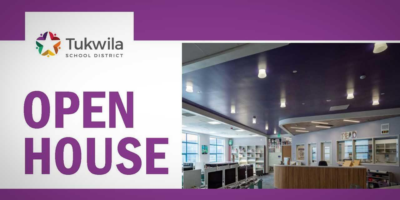 Tukwila School District Open House for Foster High & Showalter Middle Schools is Mon., Aug. 30